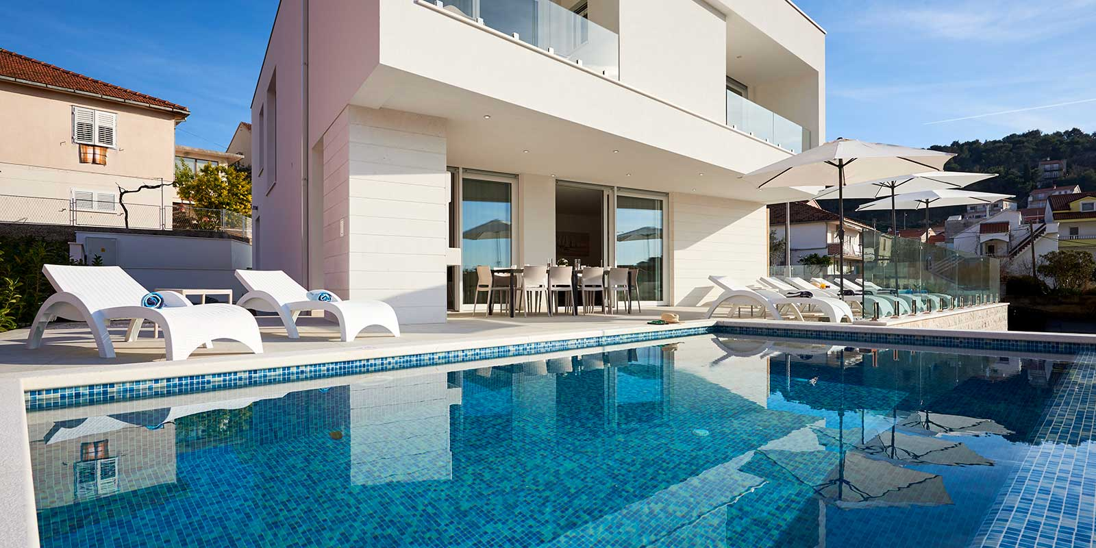 Villa Trogir pool